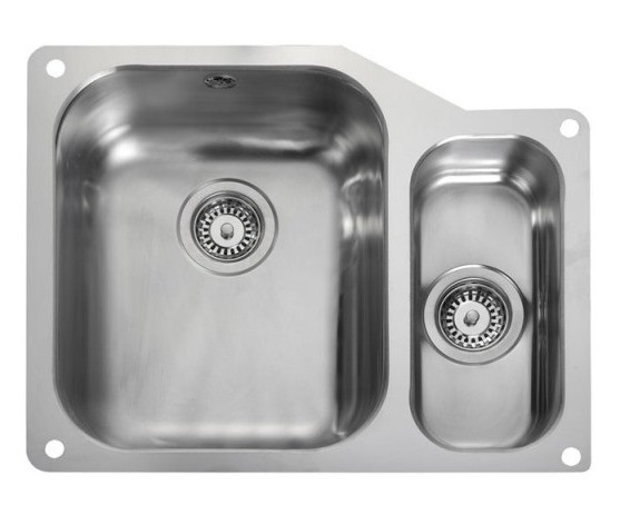 Rangemaster Atlantic Double Undermount Sink UB3515 Right