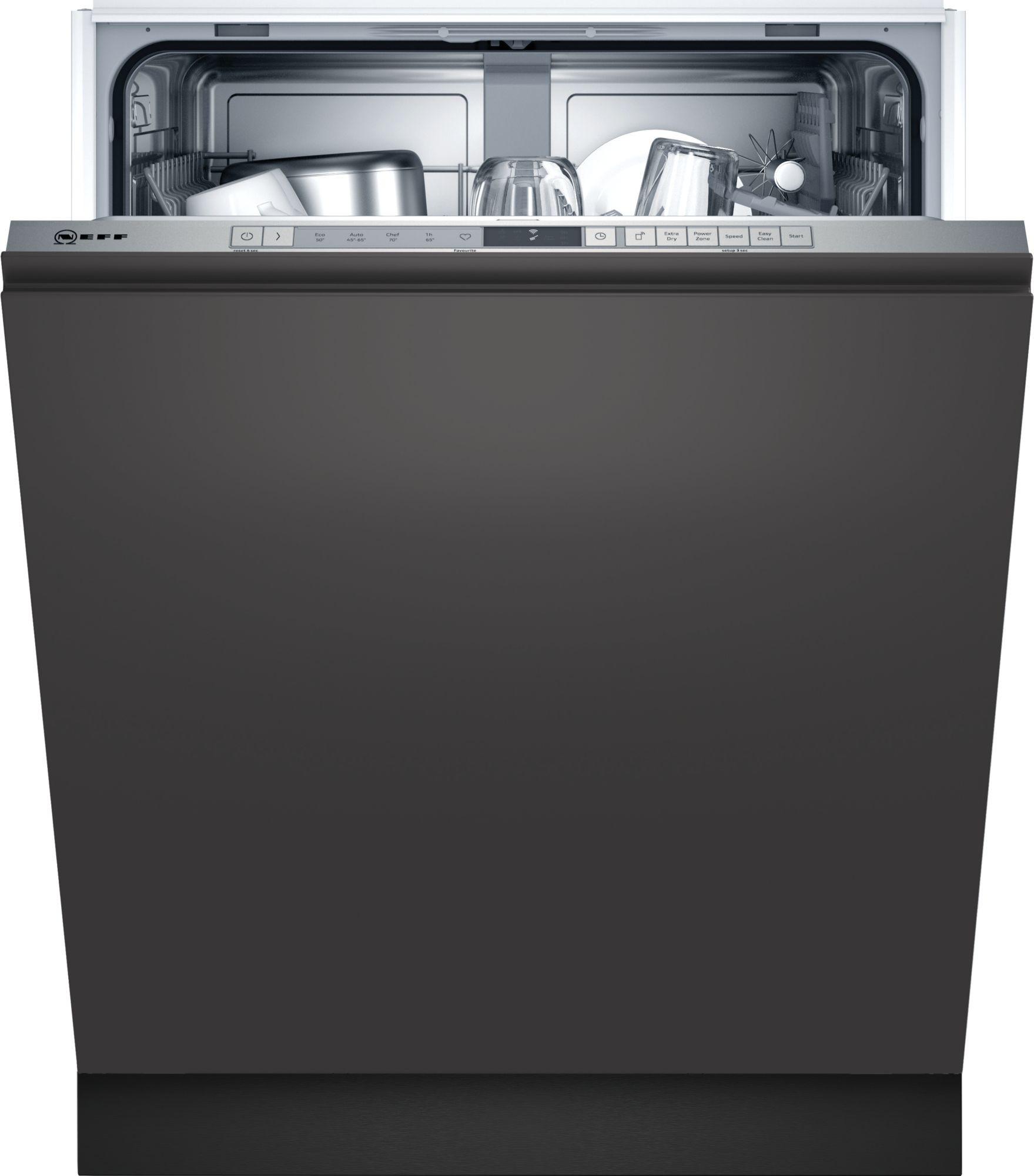 Neff N30 S153ITX02G Fully Integrated 60cm Dishwasher