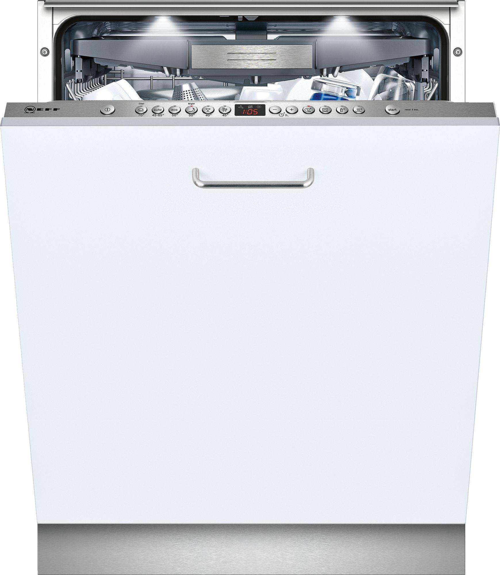 Neff S51M66X0GB Fully Integrated 60cm Dishwasher