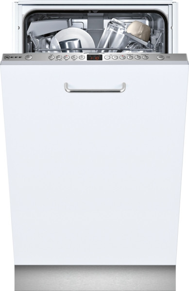 NEFF N50 S583C50X0G Fully Integrated 45cm Slimline Dishwasher