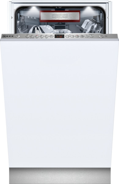 NEFF N70 S586T60D0G Fully Integrated 45cm Slimline Dishwasher