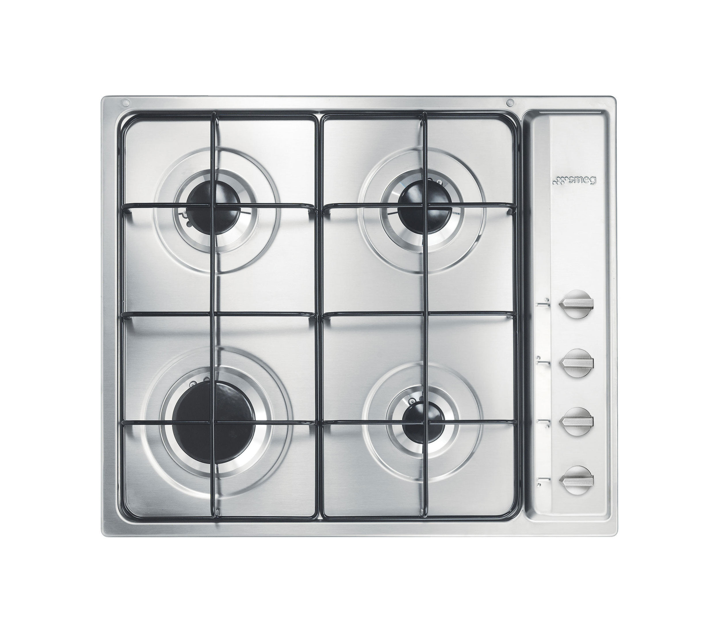 Buy Smeg S64S Cucina 60cm Stainless Steel Gas Hob S64S