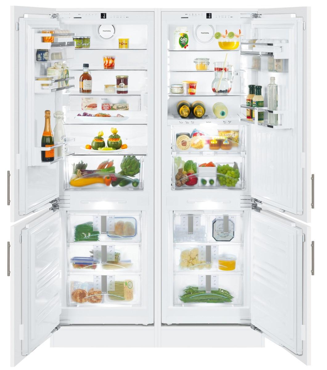 Liebherr SBS66I3 Premium Side-By-Side Built-In Fridge Freezer