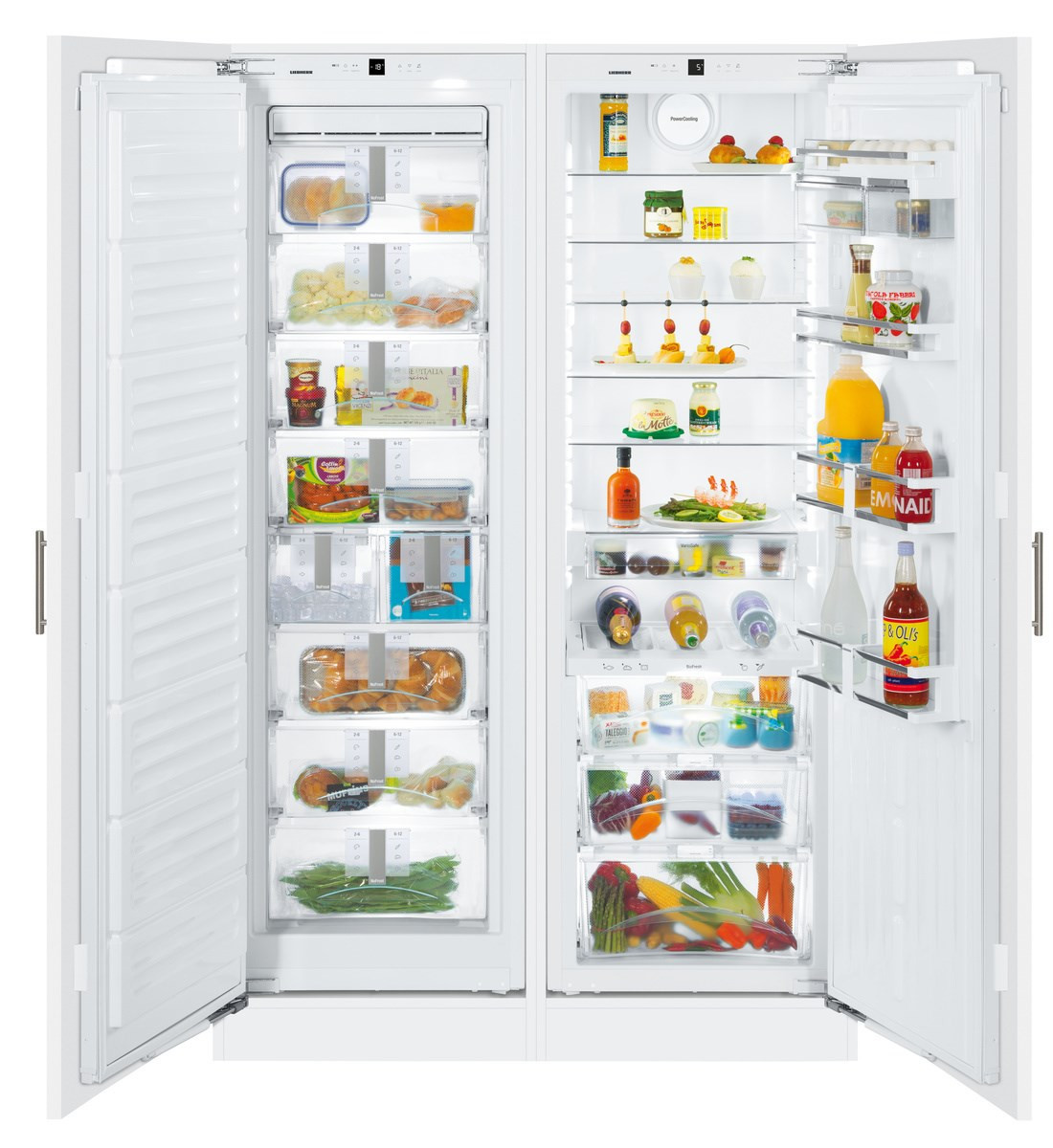 Liebherr SBS70I4 Premium Side-By-Side Built-In Fridge Freezer