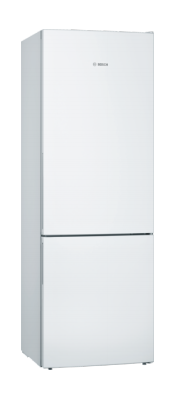 Bosch Serie 4 Freestanding White Fridge Freezer KGE49AWCAG