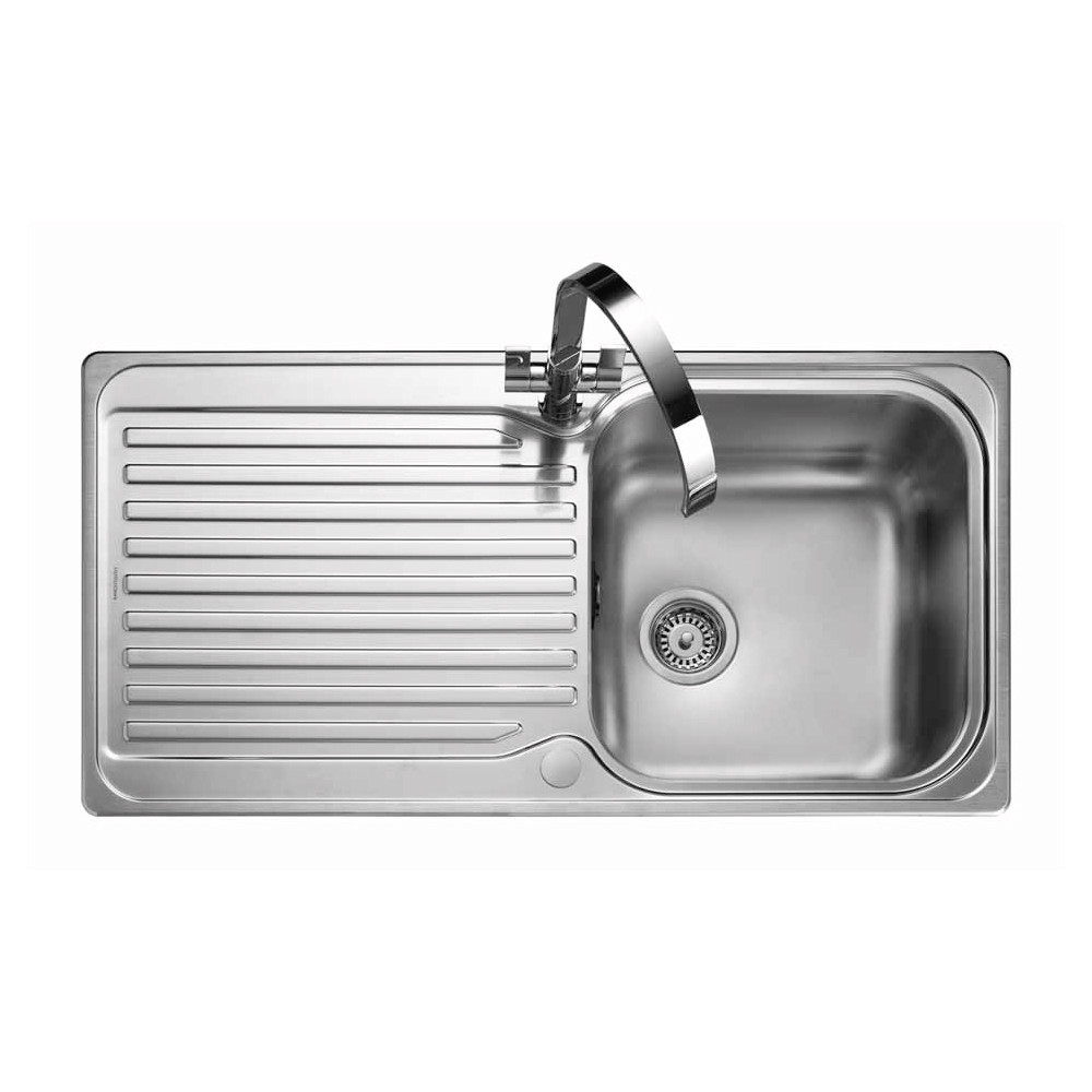 Rangemaster Sedona SD9851/ Single Bowl Stainless Steel Sink