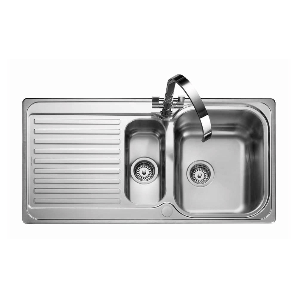 Rangemaster Sedona SD9852/ 1.5 Bowl Stainless Steel Sink