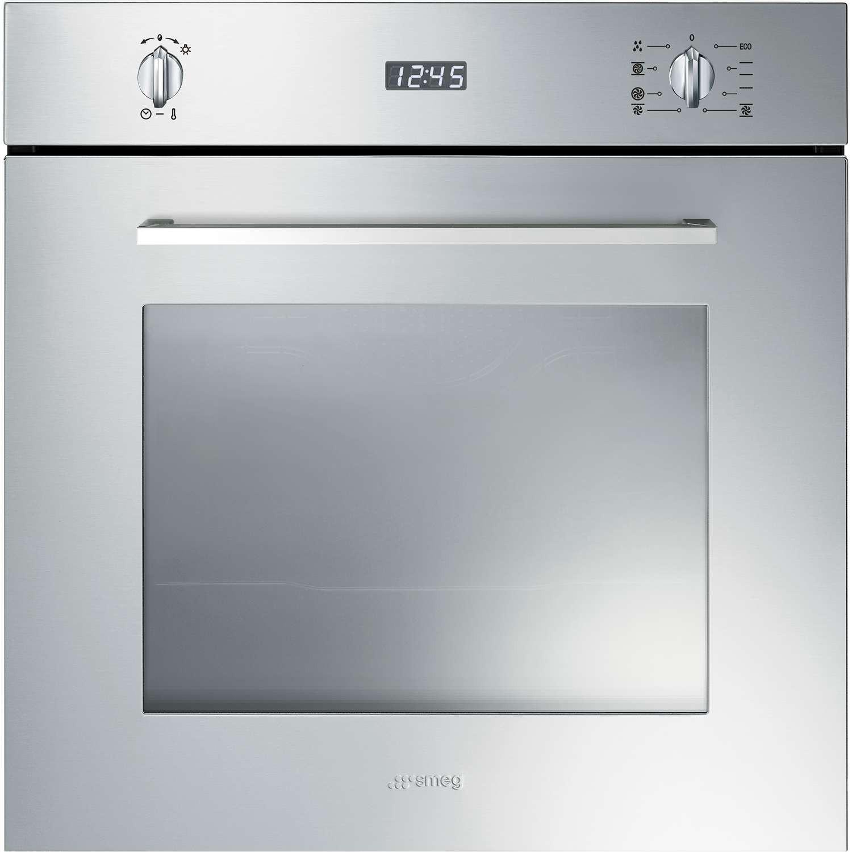 Buy Smeg Cucina Built-In 60cm Stainless Steel Single Oven SF485X