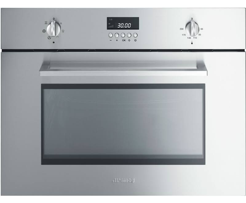 Buy Smeg SC445MCX1 Cucina Stainless Steel Compact Combination ...