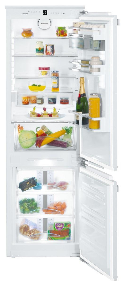 Liebherr SICN3386 Built-In Premium NoFrost White Fridge Freezer