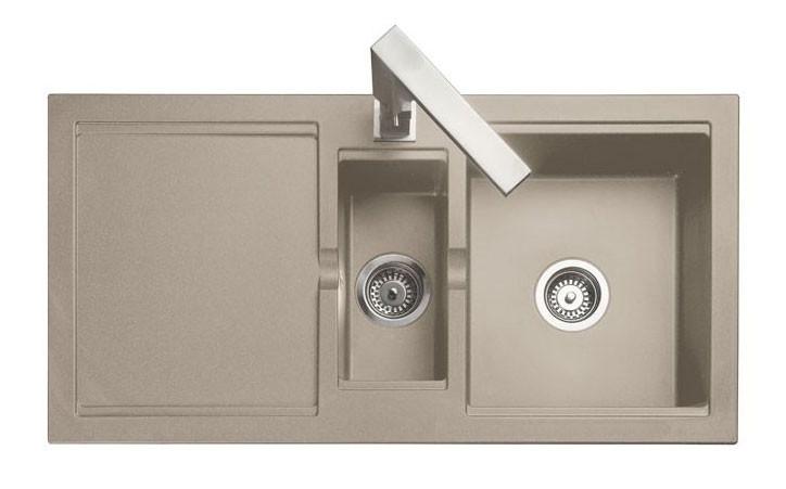 Rangemaster Cubix Granite Oatmeal Sink