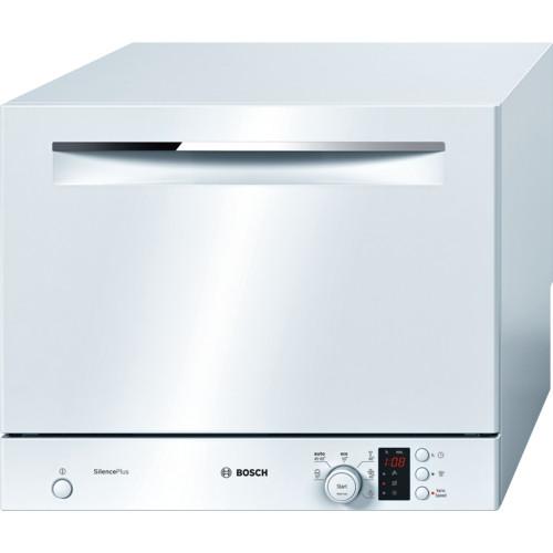 Bosch Serie 4 SKS62E22EU White Compact Dishwasher