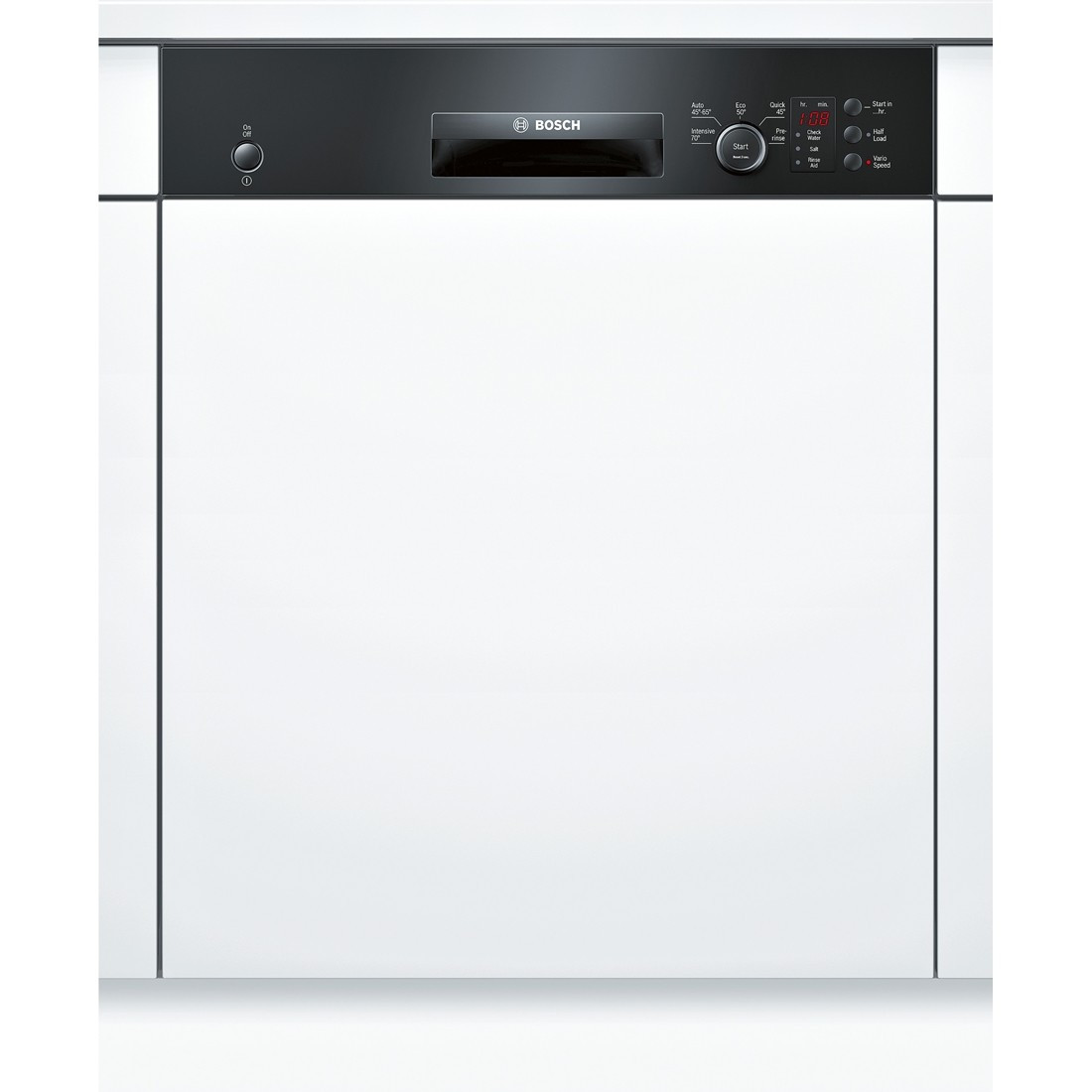 Bosch Serie 4 SMI50C16GB Black Semi-Integrated Dishwasher