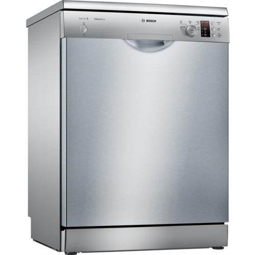 Bosch Serie 2 SMS25AI00G 60 Silver Freestanding Dishwasher