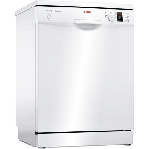 Bosch Serie 2 SMS25AW00G 60 White Freestanding Dishwasher