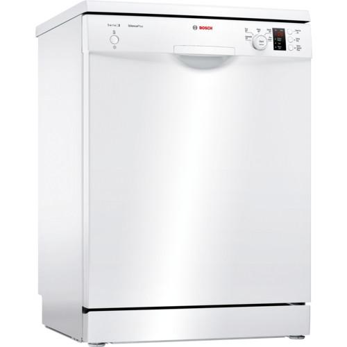 Bosch Serie 2 SMS25EW00G 60 White Freestanding Dishwasher