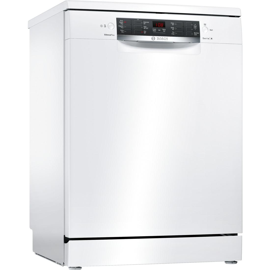 Bosch Serie 4 SMS46MW00G 60 Freestanding Dishwasher
