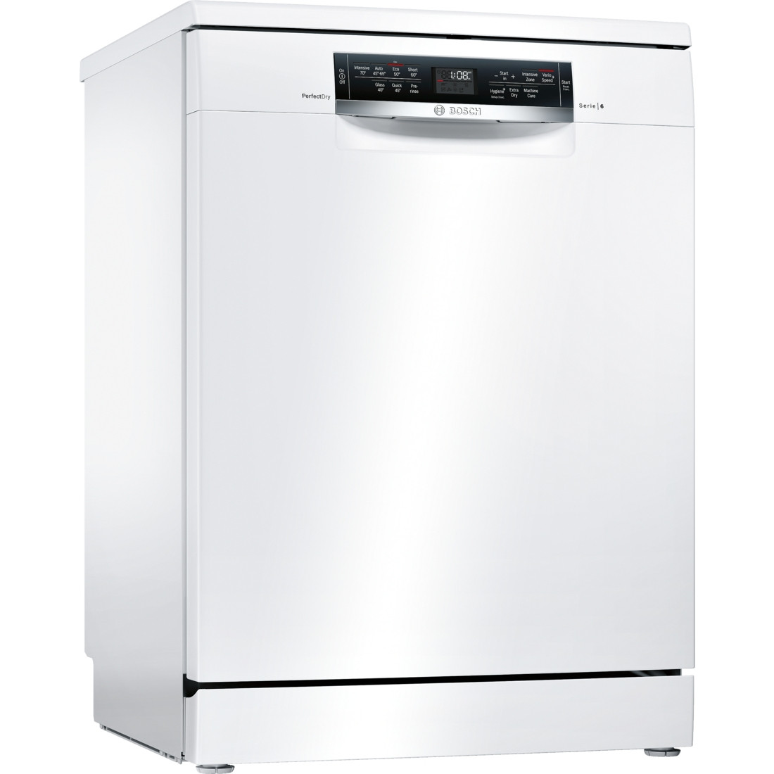 Bosch Serie 6 SMS67MW00G 60 Freestanding Dishwasher