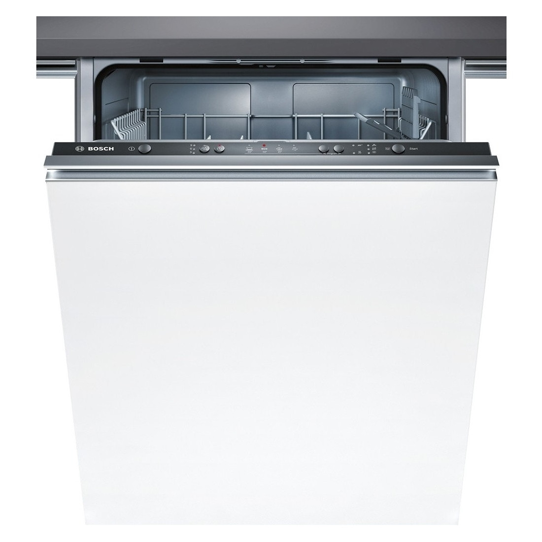 Bosch Built In 60cm White 12 Place Setting Fully Integrated Dishwasher SMV40C40GB