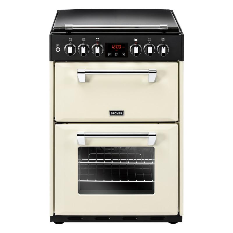 Stoves Richmond 600DF Cream Dual Fuel Mini Range Cooker