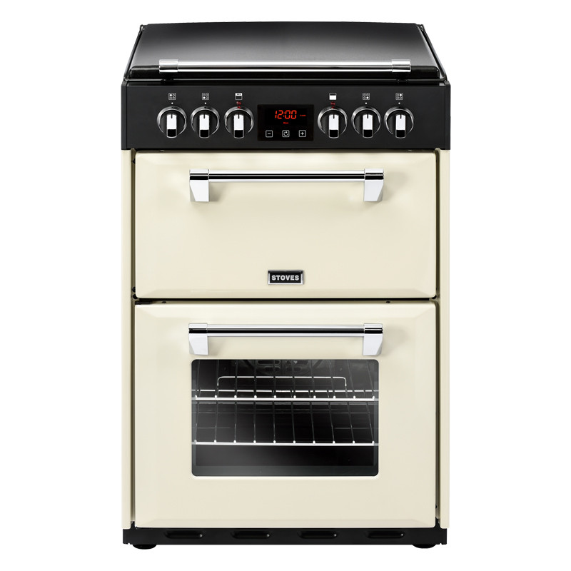 Stoves Richmond 600E Cream Ceramic Electric Mini Range Cooker