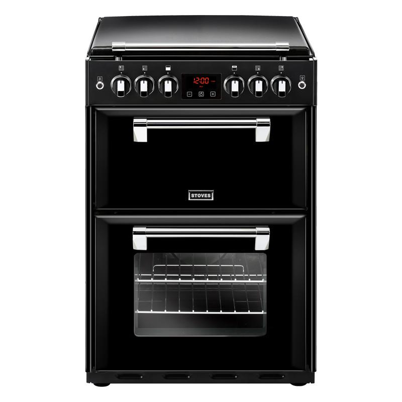Stoves Richmond 600G Black Gas Mini Range Cooker