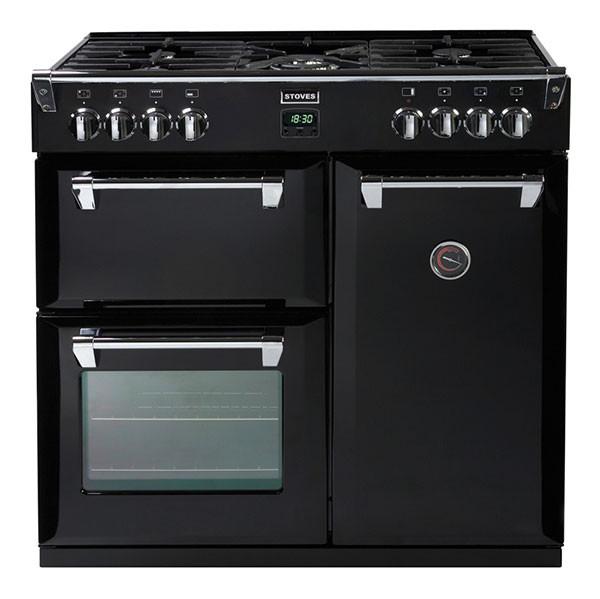 Stoves Richmond 900GT Black 90 Gas Range Cooker