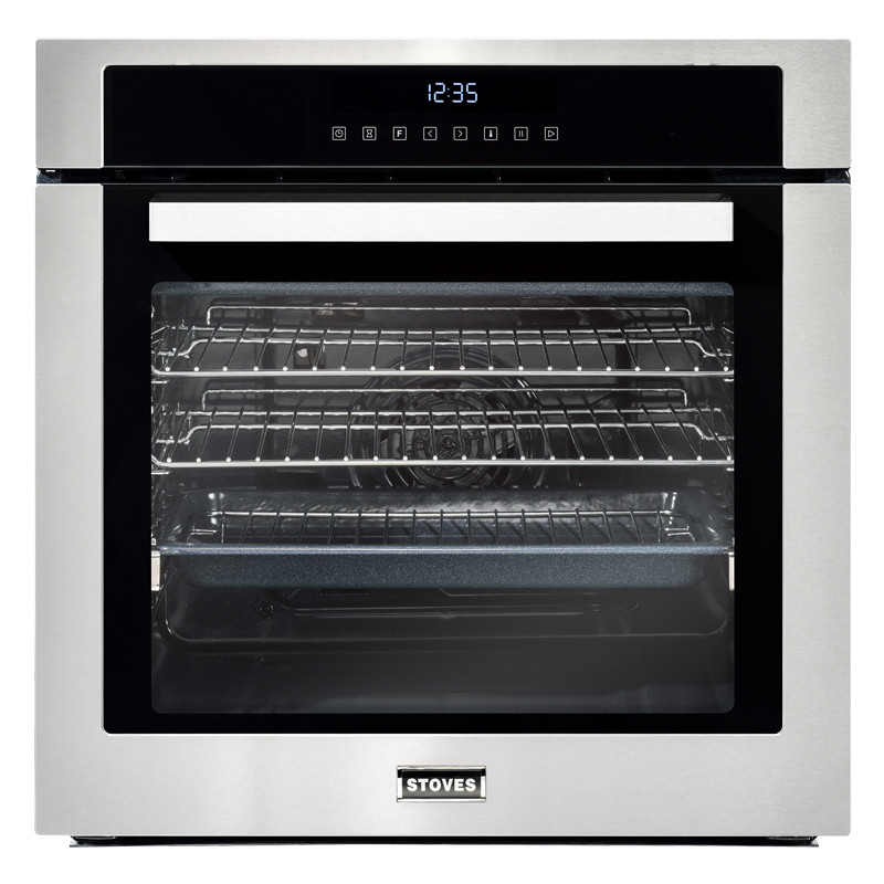 Stoves ST SEB602TCC Stainless Steel Single Electric Multifunction Oven 444410034