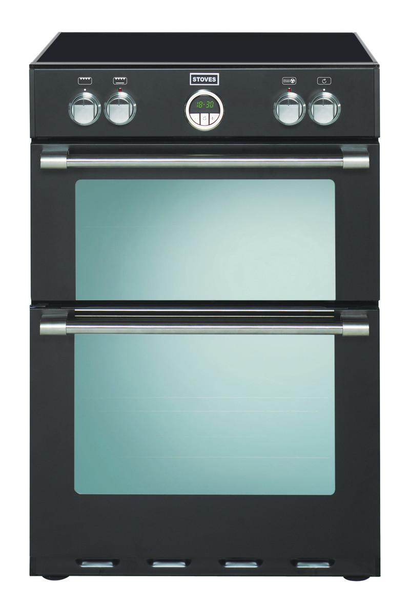 Stoves Sterling 600MFTi Black Induction Mini Range Cooker