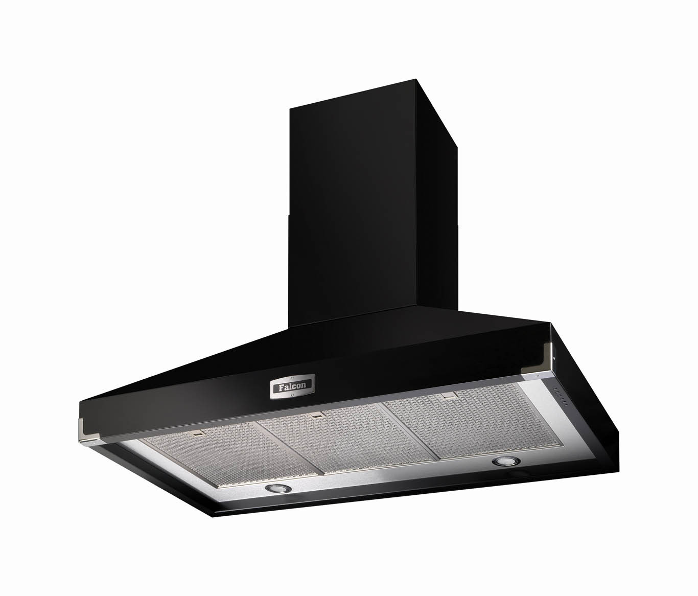 Falcon 1000 Super Extract Black Cooker Hood