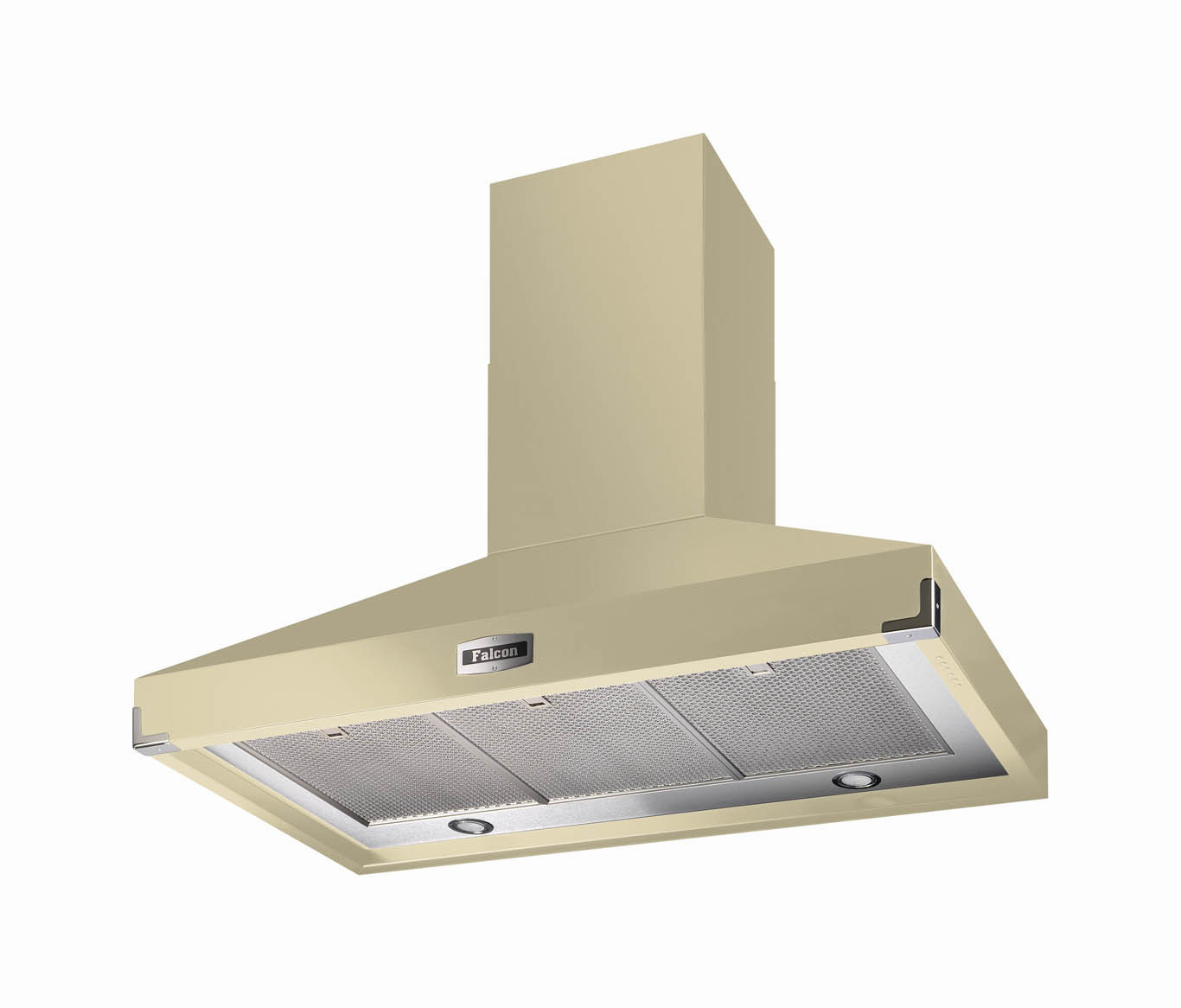 Falcon 1092 Super Extract Cooker Hood Cream/Chrome