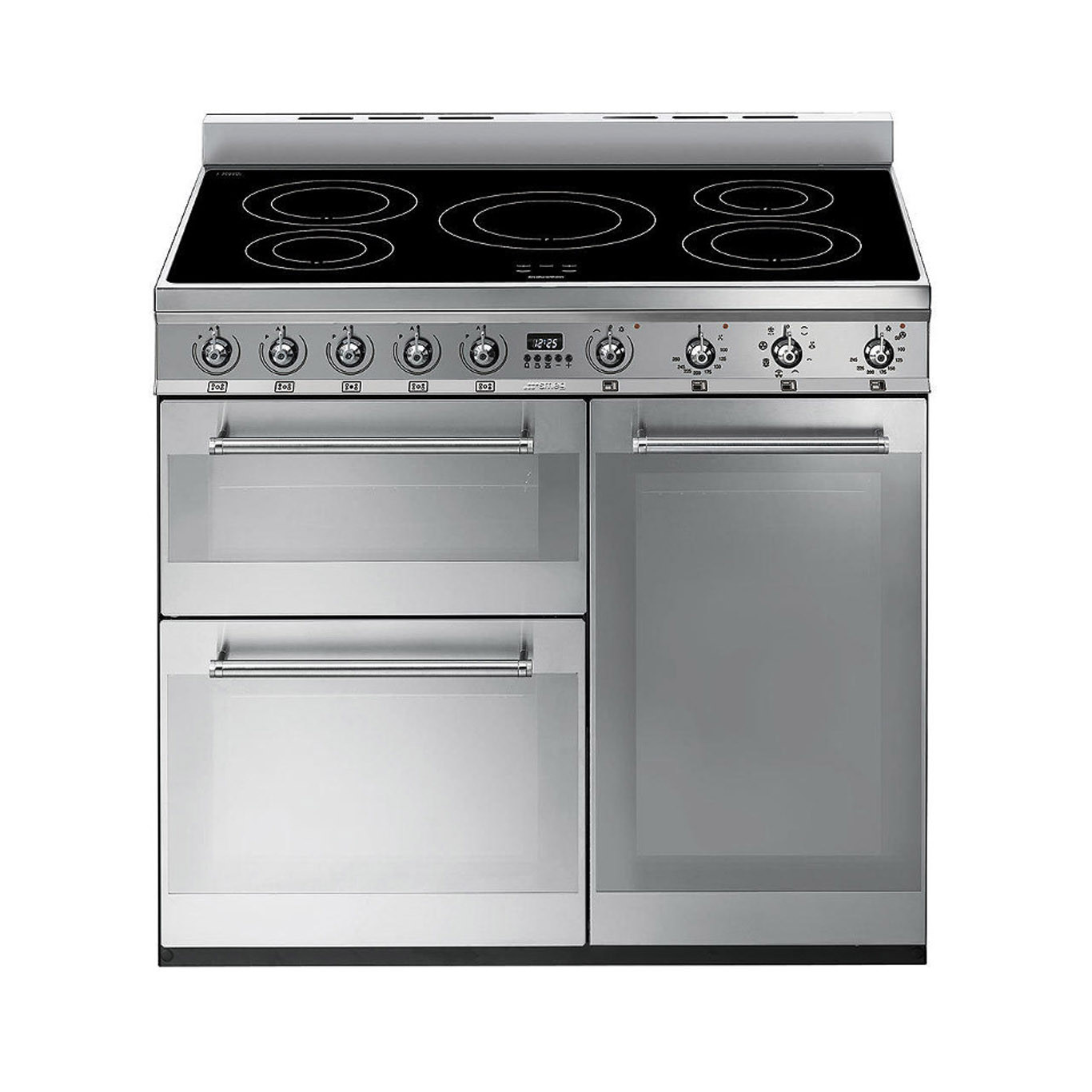 Smeg Symphony 90 Induction Stainless Steel Range Cooker
