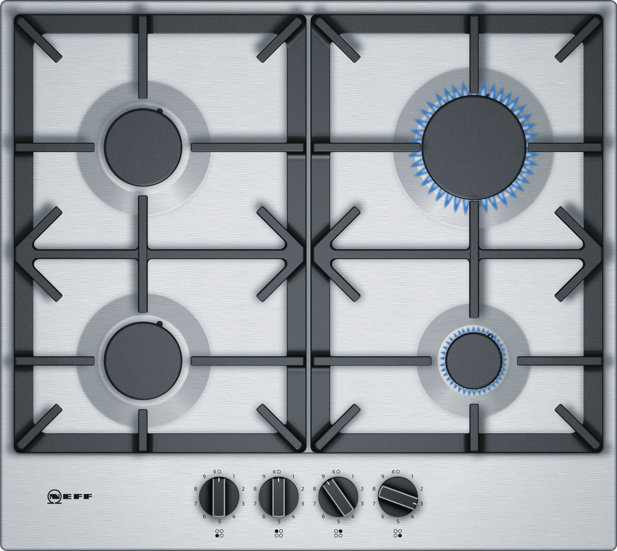 Neff N70 Stainless Steel Gas Hob T26DS49N0
