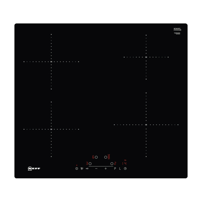 buy the neff t46pd40x0 60cm electric induction hob. Black Bedroom Furniture Sets. Home Design Ideas