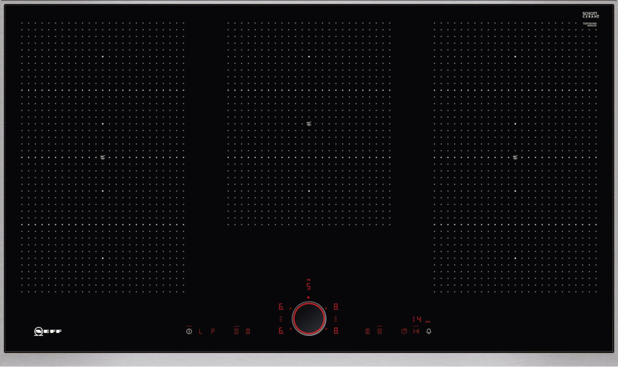 Neff N90 90cm Flex Induction Hob T59TS61N0