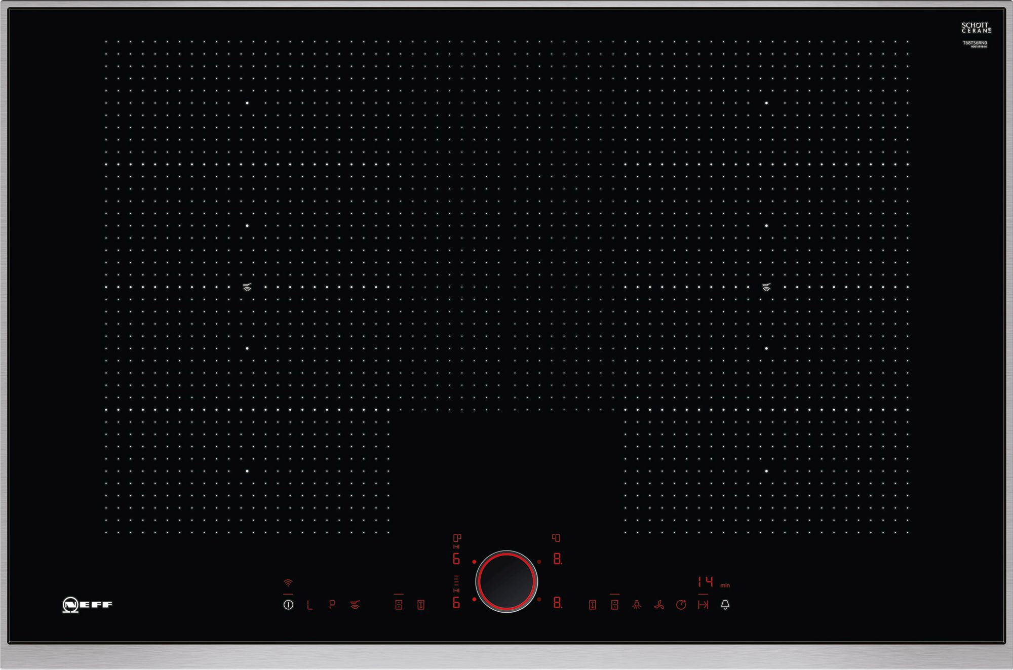 Neff N90 80cm Flex Induction Hob T68TS6RN0