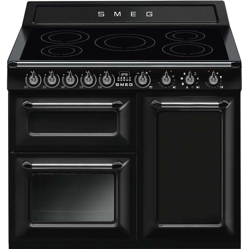 Smeg Victoria 100 Black Induction Range Cooker TR103IBL