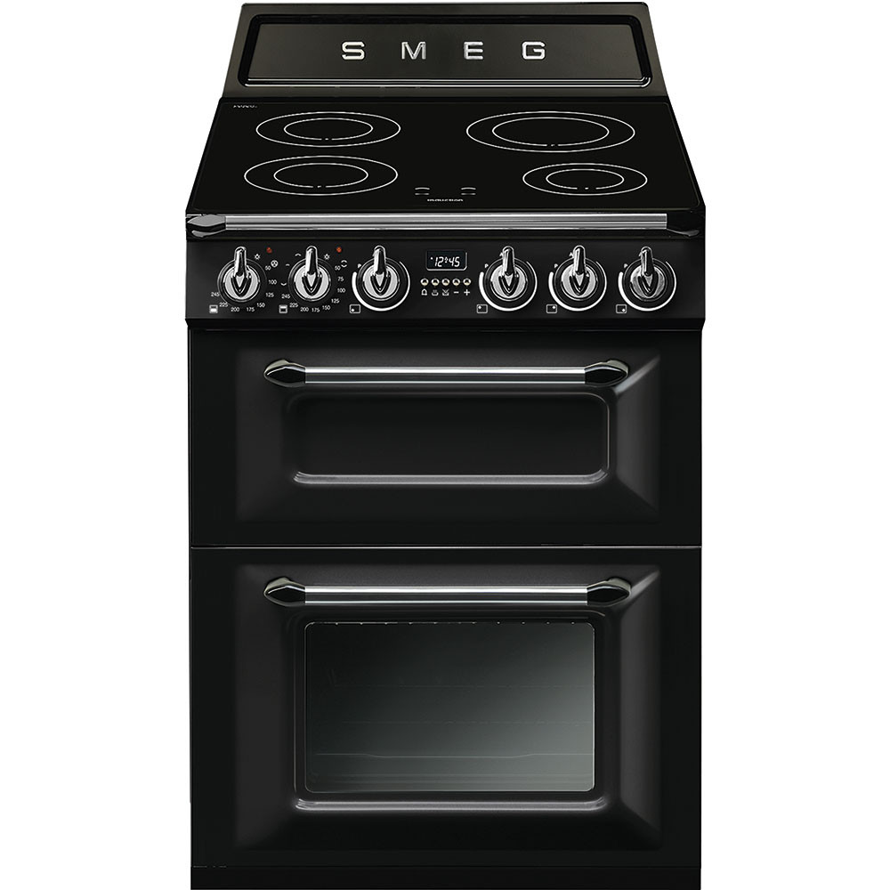 Smeg Victoria 60 Black Mini Range Cooker TR62IBL