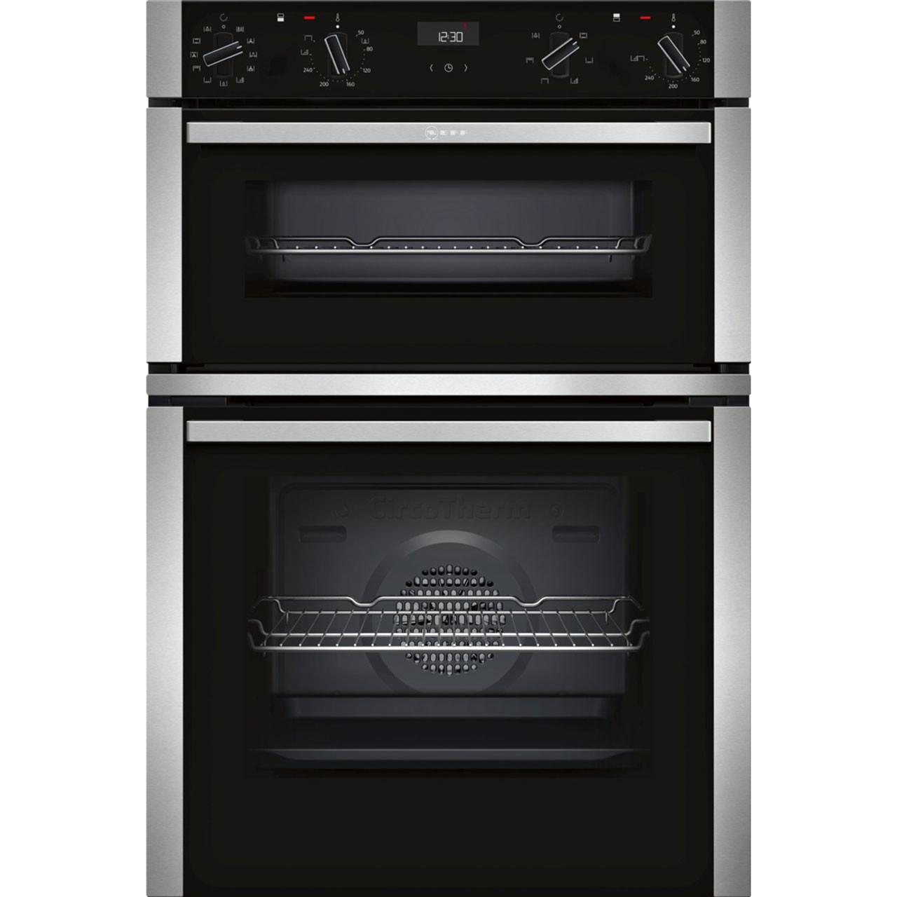 Neff N50 Black Double Oven U1ACE5HN0B