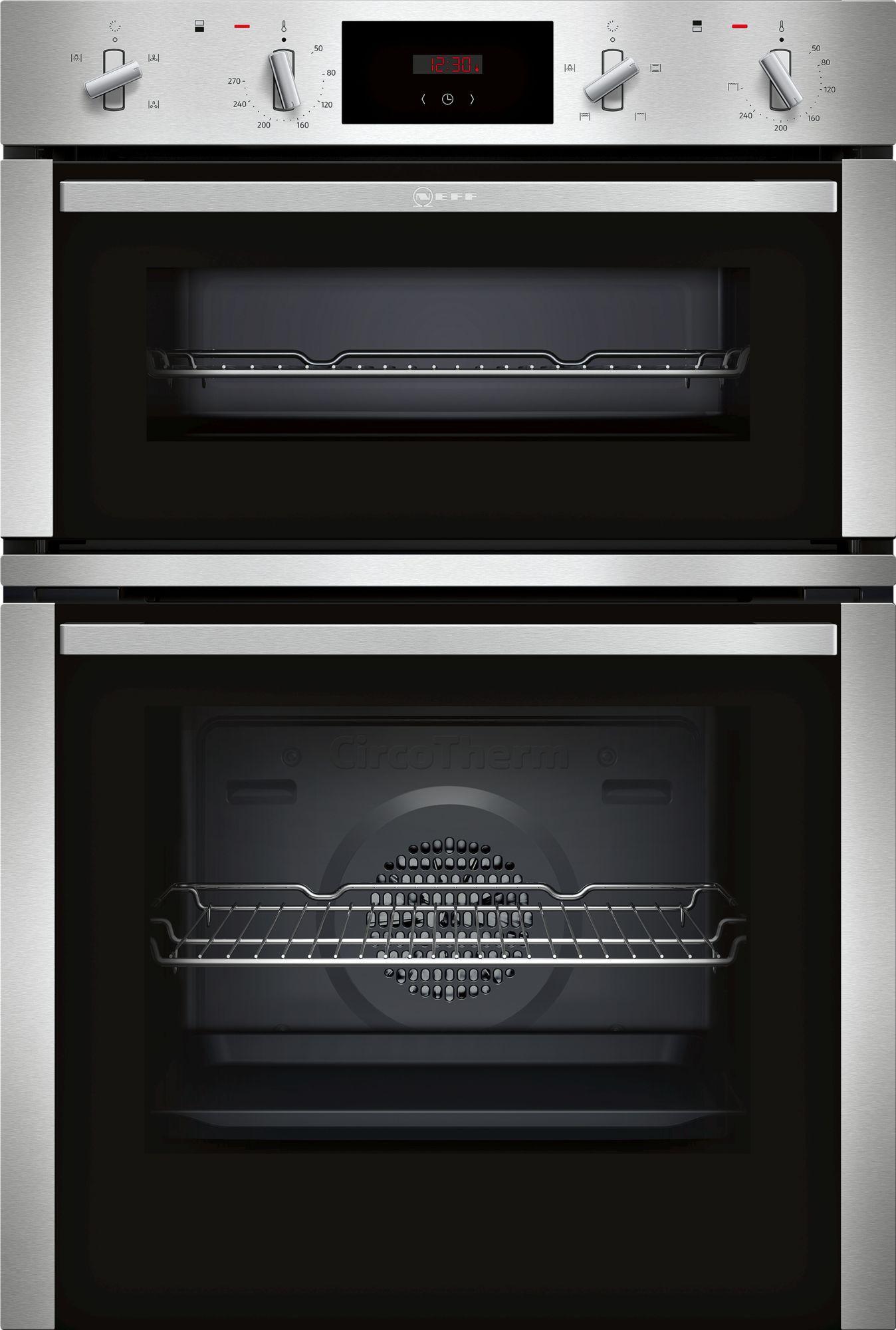 Neff N30 Double Built In Oven U1CHC0AN0B