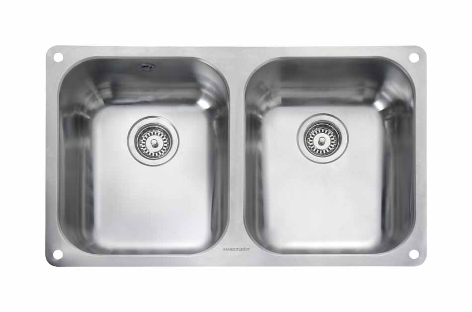 Rangemaster Atlantic Double Undermount Sink - UB3535