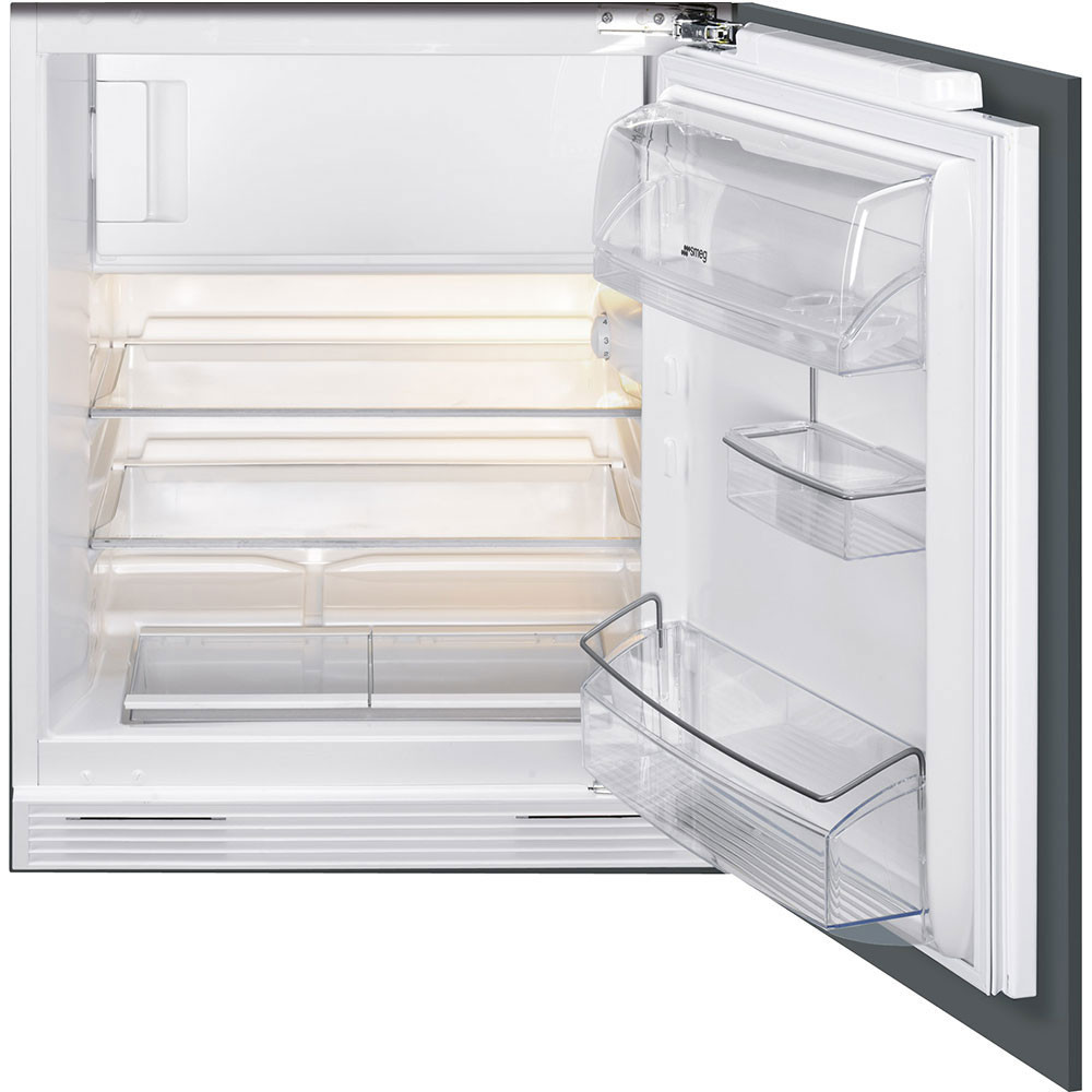 Smeg UKUD7122CSP Integrated Under Worktop Refrigerator with Ice Box