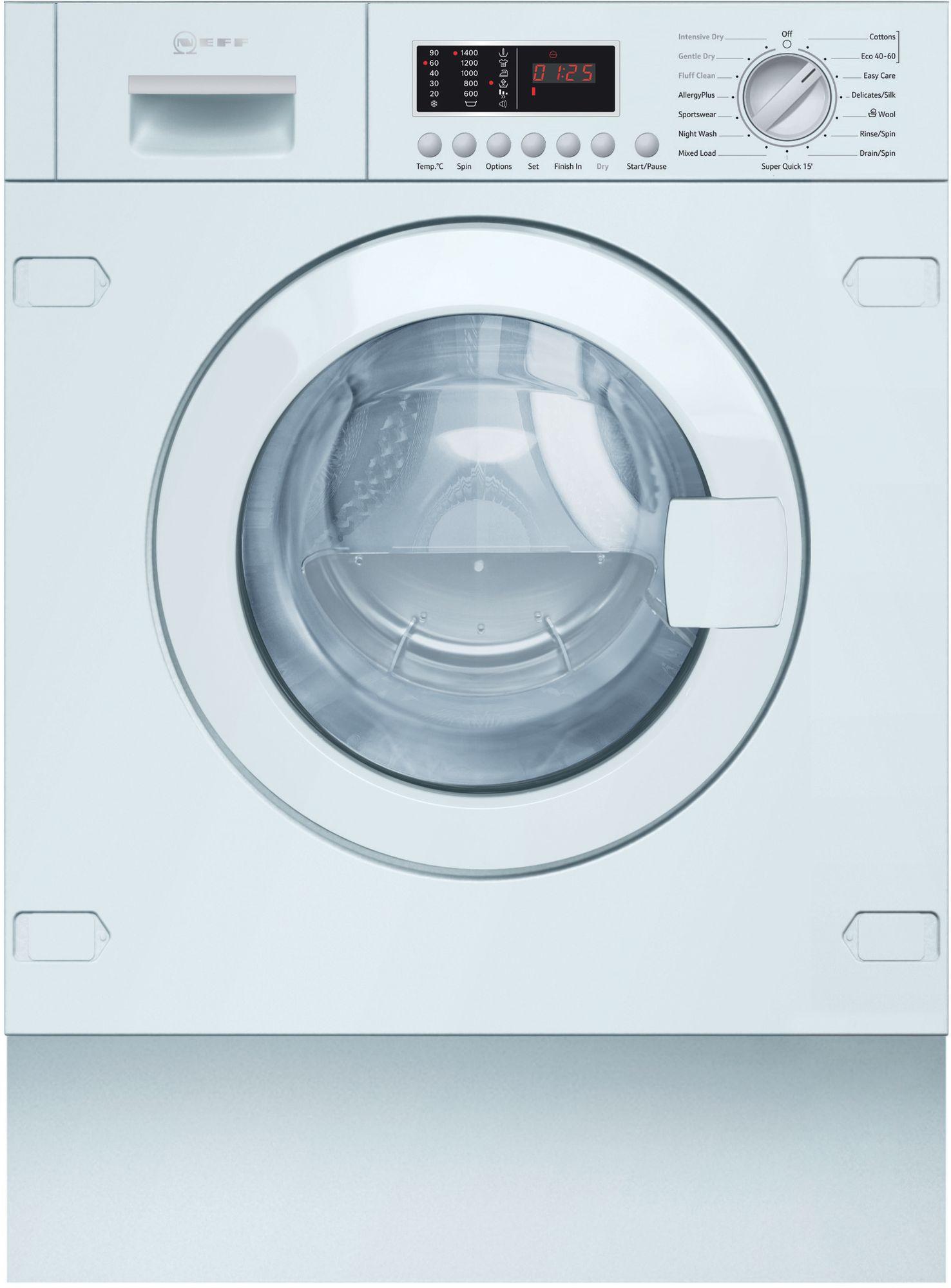 Neff Built-In Washer Dryer 7/4KG V6540X2GB
