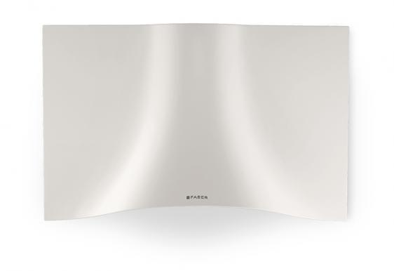 Faber Veil White Wall Hood