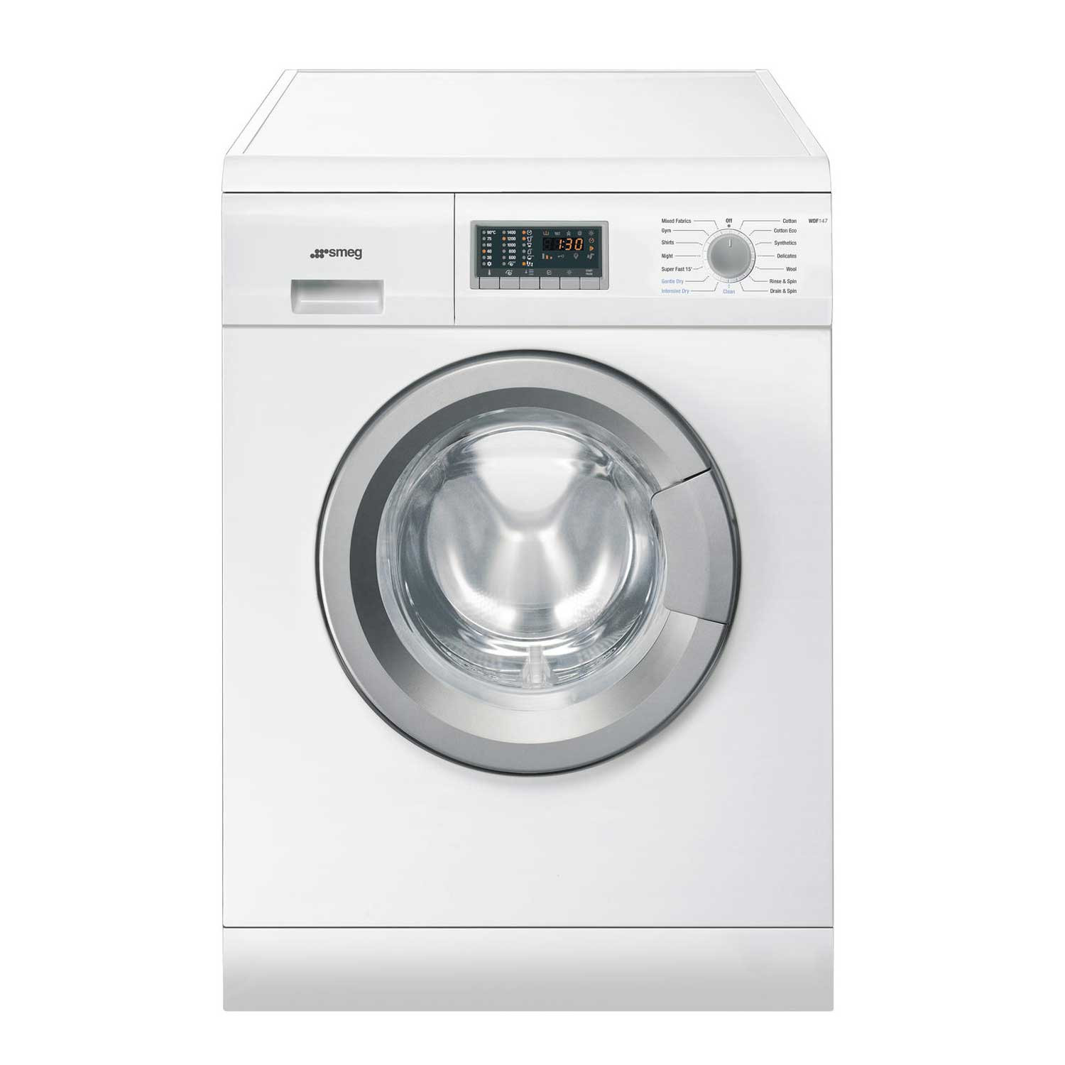 Smeg WDF147 Freestanding White 7kg A Rated Washer Dryer
