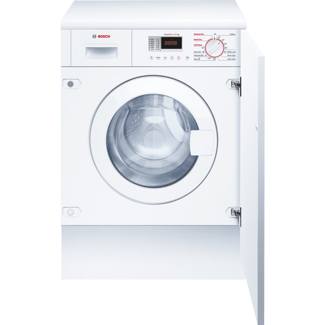 Bosch Serie 4 WKD28351GB Fully Integrated 7kg B-Rated 1400rpm Washer Dryer