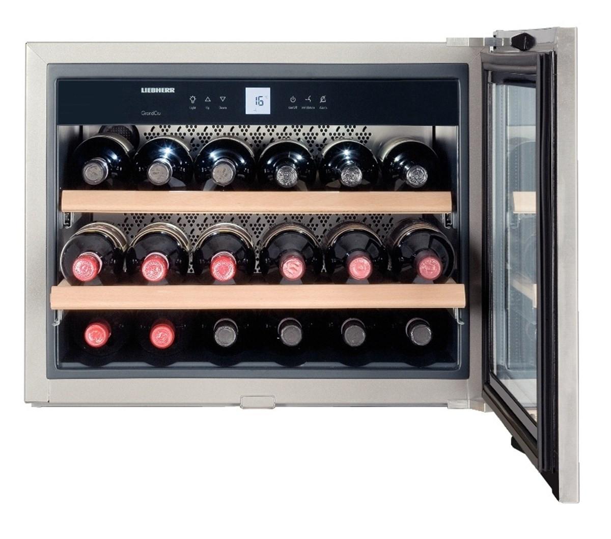 Liebherr WKEes 553 GrandCru Silver Wine Cooler