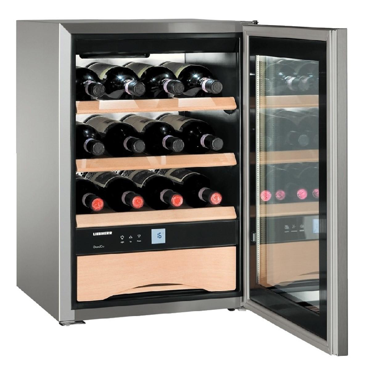 Liebherr WKes 653 Grand Cru Stainless Steel Wine Cooler