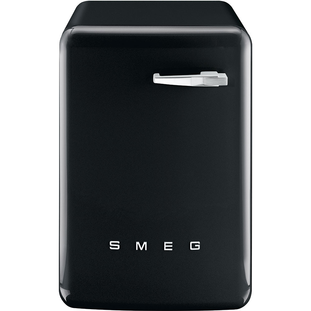 Smeg 60cm 50's Style Black Freestanding 7kg A++ Rated Washing Machine WMFABBL-2