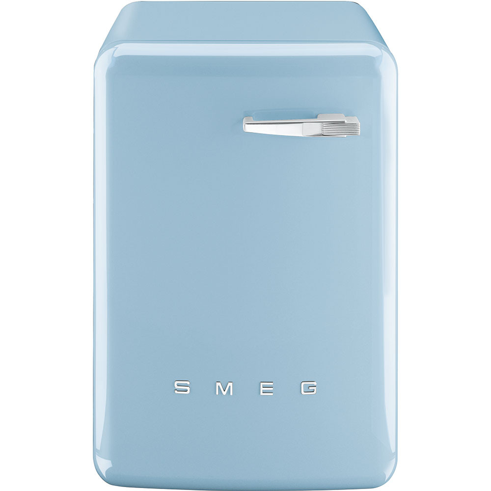 Smeg 60cm 50's Style Pastel Blue Freestanding 7kg A++ Rated Washing Machine WMFABPB-2
